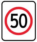 RUH_regulatory_speed_sign